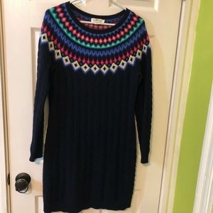 Vineyard Vines Seaside Fair Isle Sweater Dress